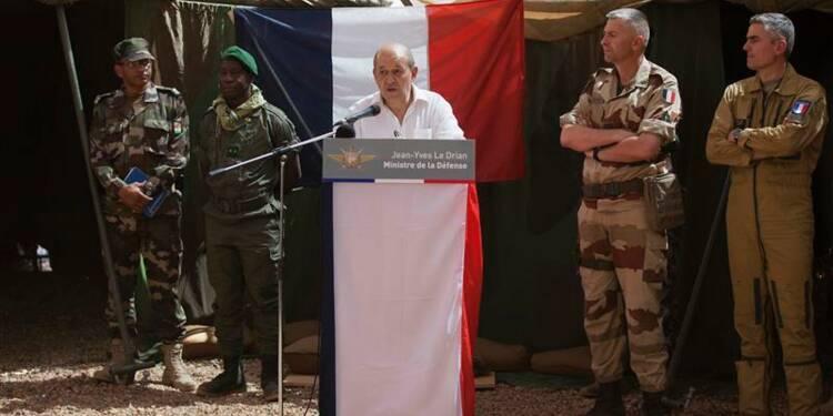 Le Drian confirme l'arrestation d'un djihadiste français au Mali