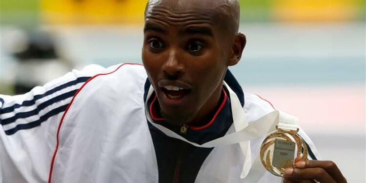 Athlétisme: Mohamed Farah s'offre le titre mondial sur 10.000m