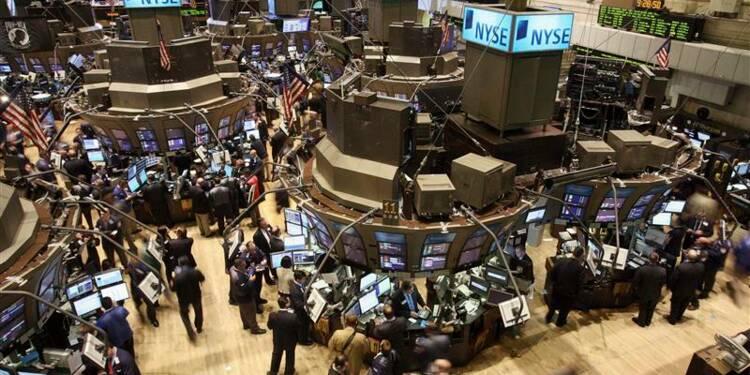 Wall Street marque une pause après sept séances de hausse