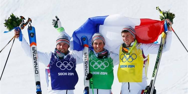 JO: triplé français en ski cross messieurs