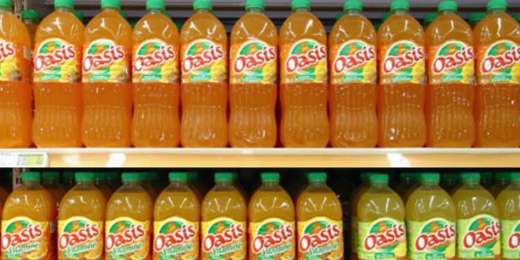 Une dose de fruits, trois de marketing, la formule magique d'Oasis