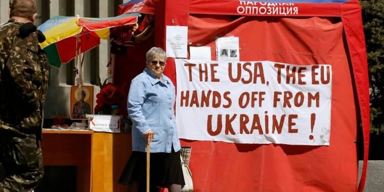 Washington pour l'apaisement sur l'Ukraine, menace de sanctions