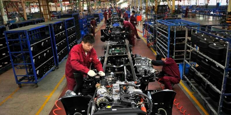 L'indice manufacturier HSBC à un pic de 5 mois en Chine en mai