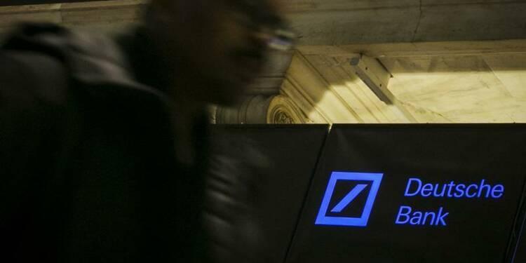 Deutsche Bank maintient son dividende annuel