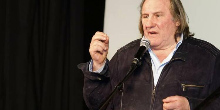 Gérard Depardieu crée une société en Belgique