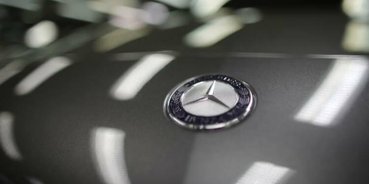 Mercedes attaquera le blocage des immatriculations en France