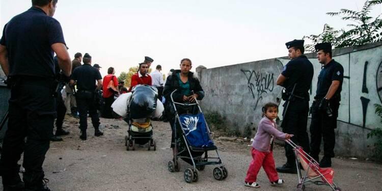 Un camp de Roms évacué près de Lyon