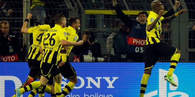 Ligue des champions: Dortmund renverse Malaga et va en demies