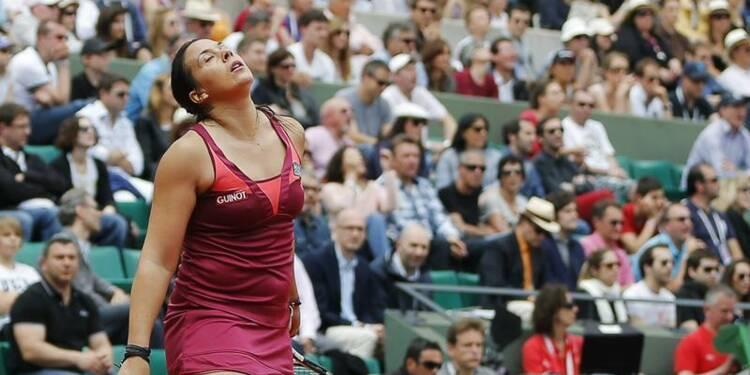 Roland Garros: Djokovic et Gasquet faciles, Bartoli à l'agonie