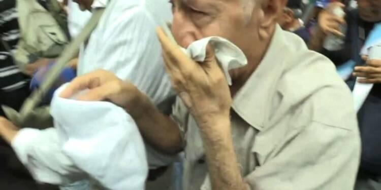 Venezuela: heurts entre grands-parents et policiers