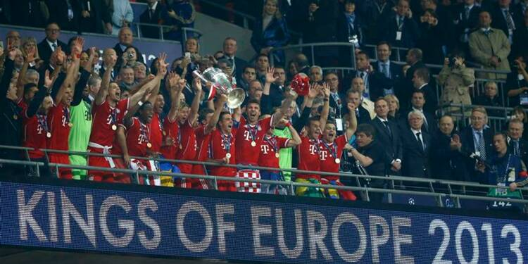 Ligue des champions: le Bayern s'offre le trophée pour la 5e fois