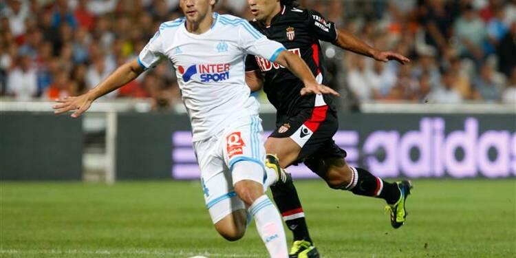 Ligue 1: Monaco fait coup double contre Marseille