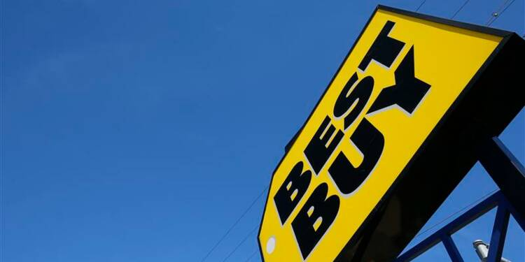 Baisse des ventes de fin d'année de Best Buy, chute du titre