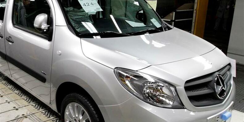 Daimler rappelle 3.500 Mercedes Citan en Europe