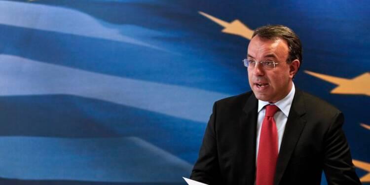 Le déficit budgétaire de la Grèce à 2,1% du PIB en 2013