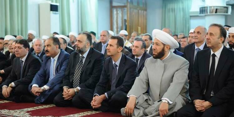 Assad indemne à la télé, attaque signalée contre son convoi