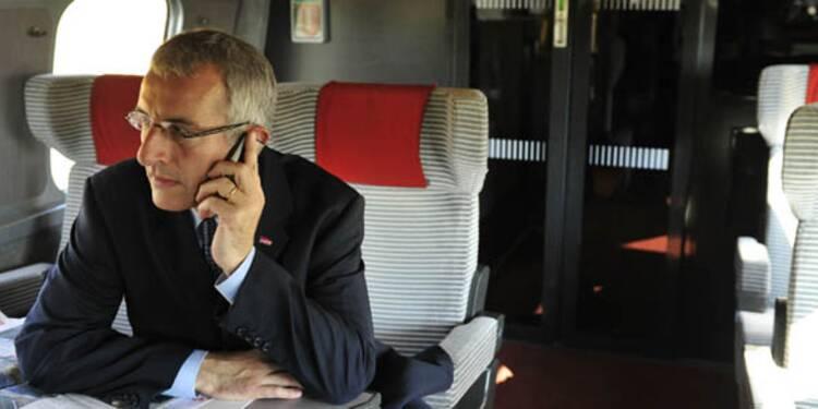 Téléphone dans le train : ça capte mal chez Free et Bouygues