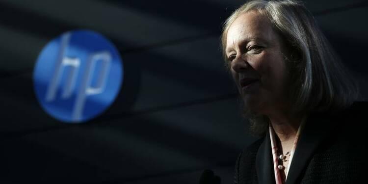 Hewlett-Packard limite la casse, le C.A. en repli de 1%