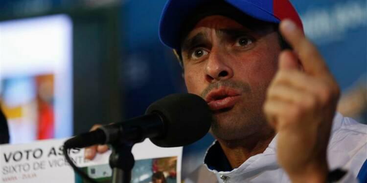 Capriles annule la manifestation prévue mercredi au Venezuela