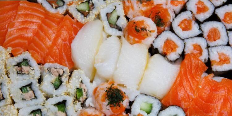 Sushi Shop met les codes du luxe à sa sauce
