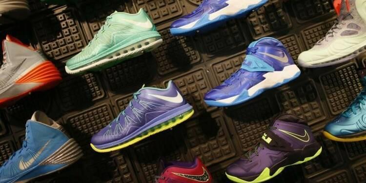 Les résultats de Nike meilleurs que prévu