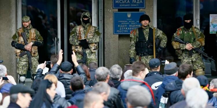 L'Ukraine menace de lancer l'armée contre les pro-russes