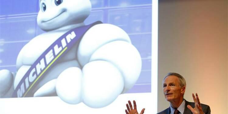 La restructuration pèse sur le 1er semestre de Michelin