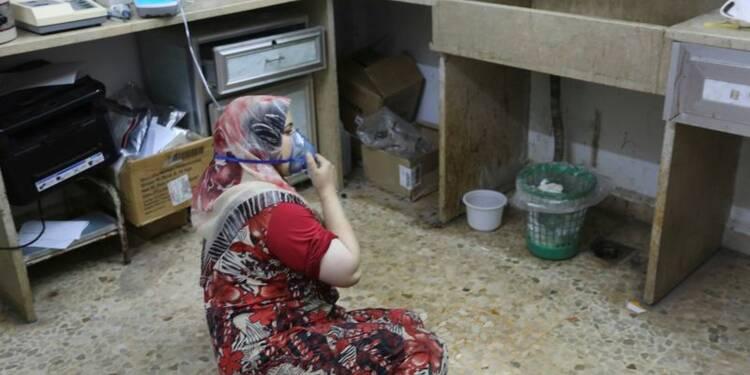 Nouvelle attaque au chlore signalée par les opposants syriens