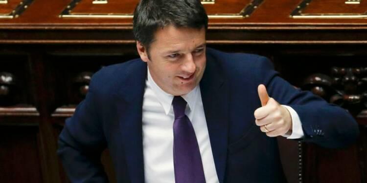 Les députés italiens votent la confiance à Matteo Renzi