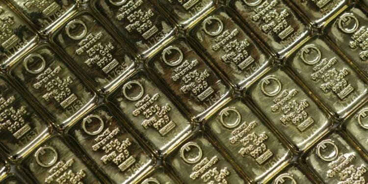 Des dizaines de lingots d'or envolés