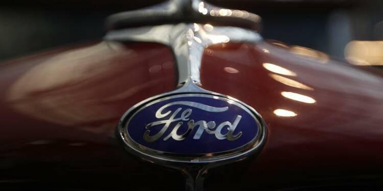 Ford publie des résultats au 4e trimestre meilleurs que prévu