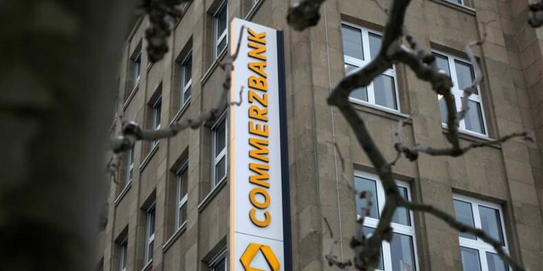 Hausse du bénéfice net trimestriel de Commerzbank