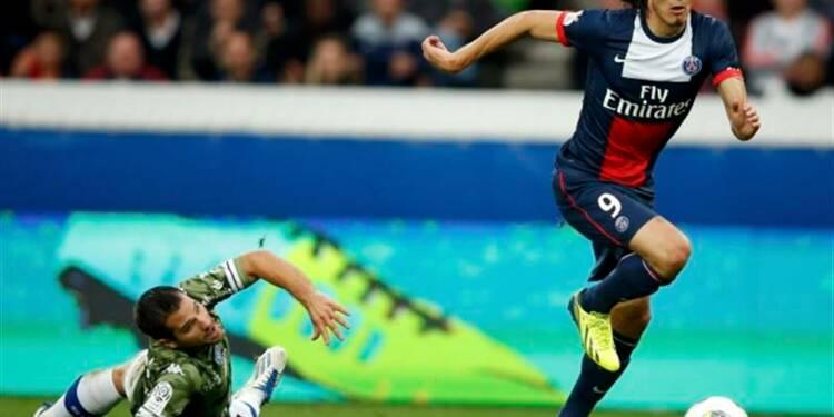 Ligue 1: le PSG brille, Ibrahimovic et Cavani aussi