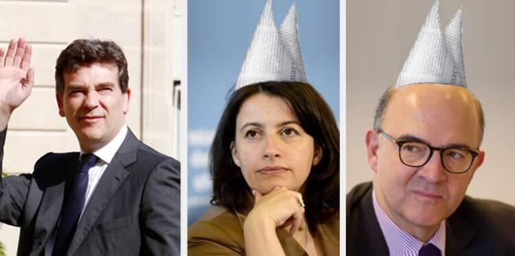 Les ministres qui travaillent bien… et les cancres