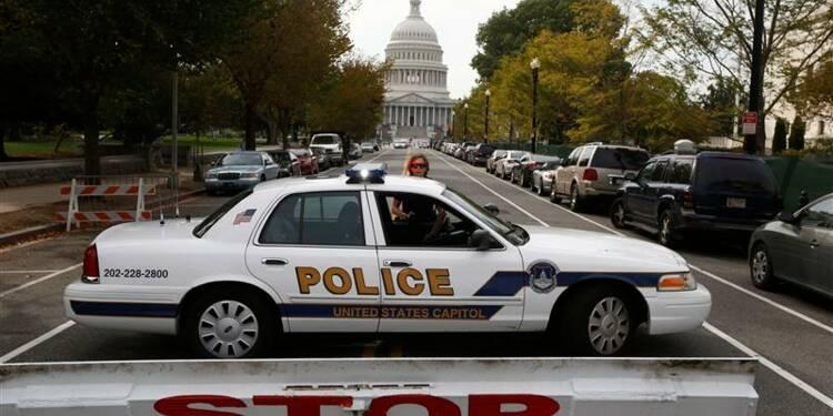 Course-poursuite près du Capitole, une femme abattue