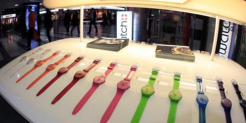 Le bénéfice net 2013 de Swatch en hausse de 20%