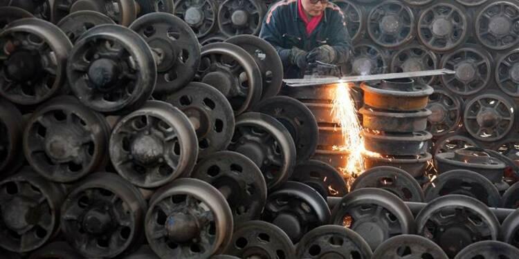 Ralentissement de l'activité manufacturière en Chine