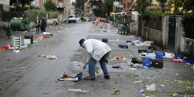 Des millions d'Italiens dans la pauvreté