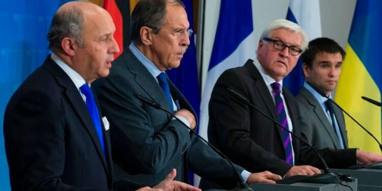 Ukraine et Russie vont négocier un nouveau cessez-le-feu