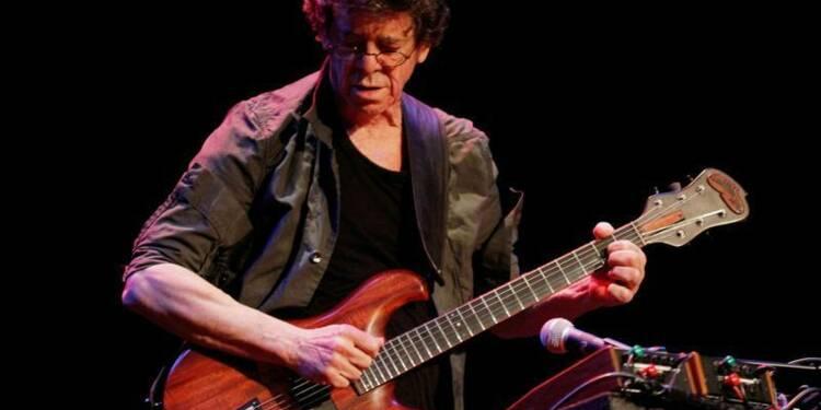 Décès de Lou Reed, figure du rock, à l'âge de 71 ans