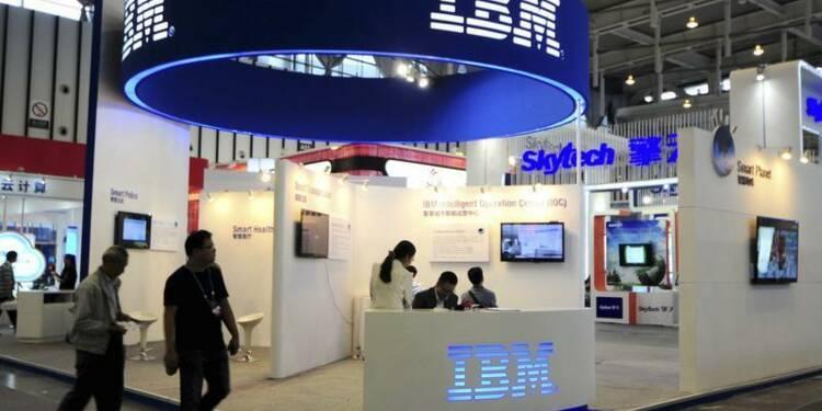 Nouvelle baisse du chiffre d'affaires d'IBM