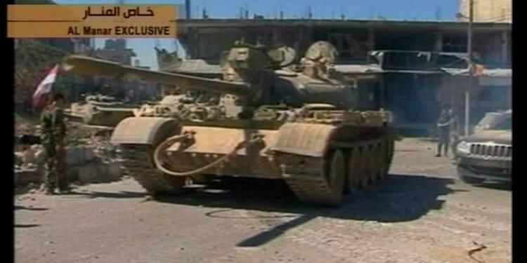 L'armée syrienne a repris le contrôle de Koussaïr