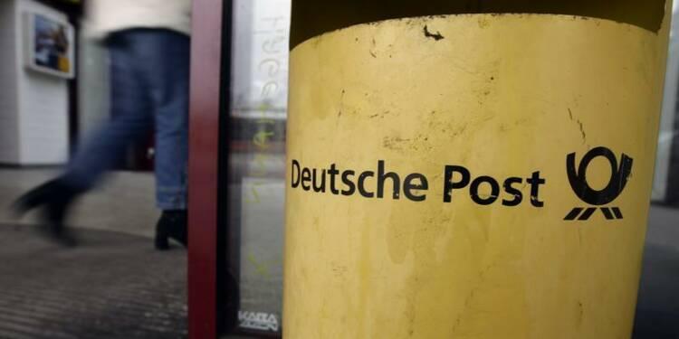 Le bénéfice trimestriel de Deutsche Post supérieur aux attentes