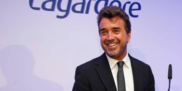 Arnaud Lagardère confiant dans les perspectives 2014