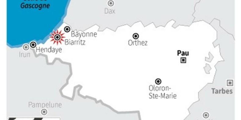 Un sans-abri aurait été emporté par une vague à Biarritz