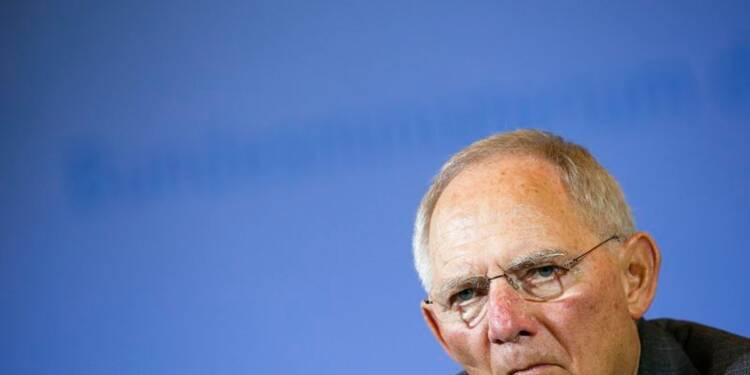 L'Europe doit respecter ses propres règles, dit Schäuble
