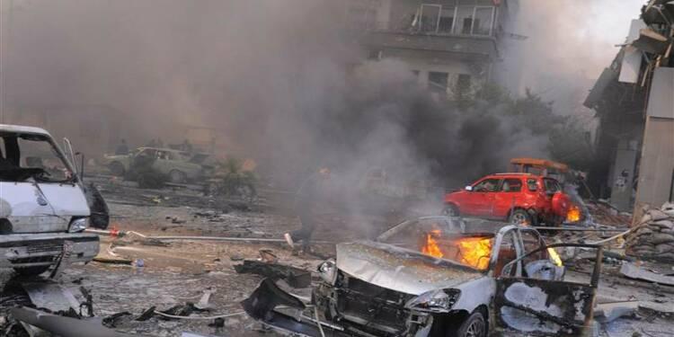 Attentat près du siège du parti Baas à Damas, 53 morts