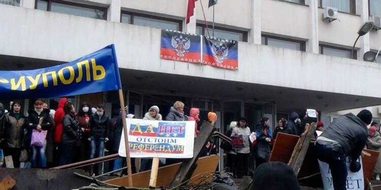 Une autre ville de l'Est ukrainien visée par les pro-russes