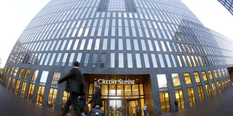 Le trading obligataire a pesé sur le bénéfice de Crédit Suisse