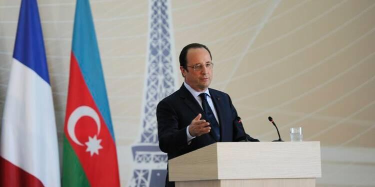 Hollande ménage Moscou dans le Caucase